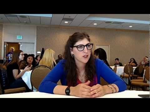 Interview With Mayim Bialik of CBS' The Big Bang Theory at Comic-Con 2012