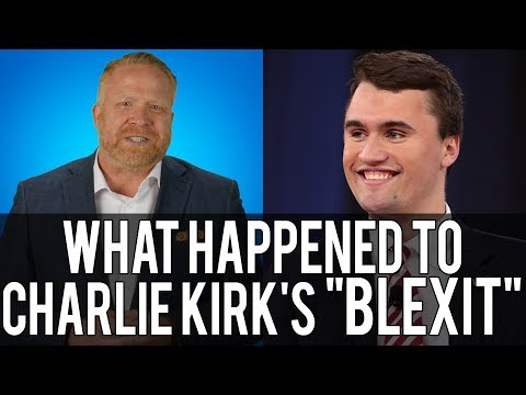 Charlie Kirk Failed on Promise of Black Exit From Democrat Party  #Blexit