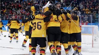 Germany Stuns Canada In Olympic Ice Hockey