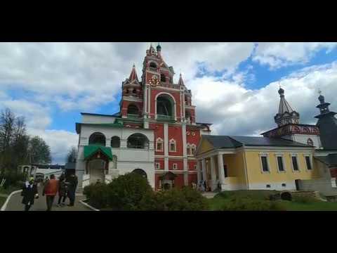 Крестный ход в Саввино Сторожевском монастыре Звенигород