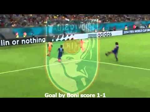 Ivory Coast 2 - 1 Japan ~ Pantai Gading 2 - 1 ...