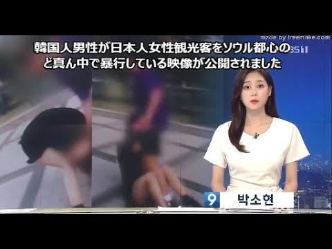 韓国 暴行 日本 人
