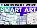 MS Word SmartArt | Tutorial 10