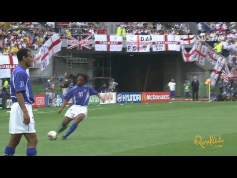 Brasil 2 x 1 Inglaterra - Copa do Mundo 2002 (21/06/2002)