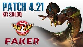 SKT T1 Faker - Cassiopeia vs Azir - KR SoloQ