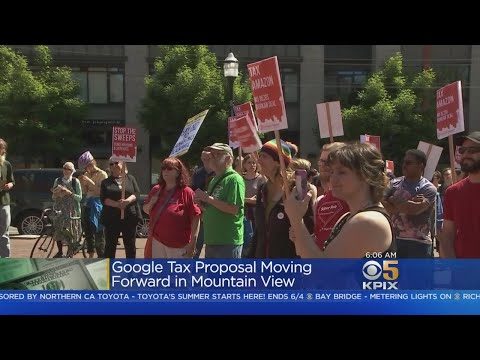 Mountain View Eyes Tax On Google, Large Tech Businesses