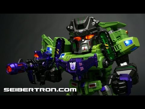 Kids Logic Transformers MN08 Devastator and TF04 Constructicons