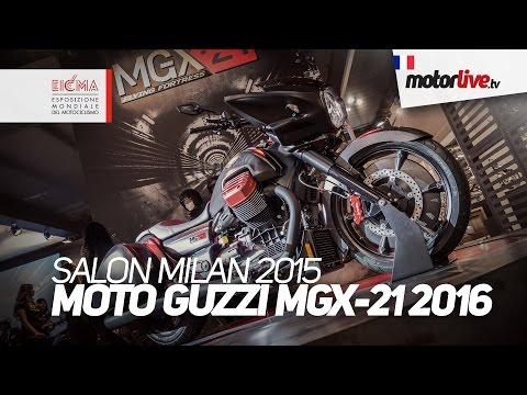 SALON MILAN 2015 | MOTO GUZZI MGX21 2016 - EICMA