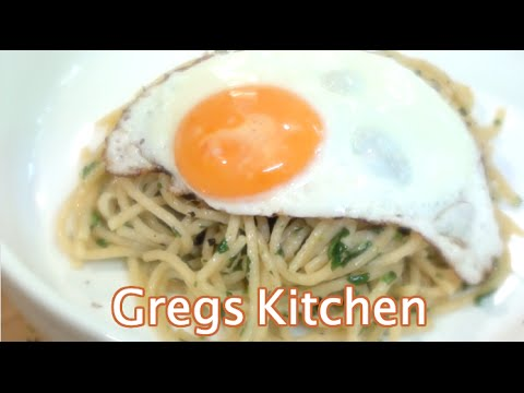 PARMESAN PARSLEY PASTA - 3 Ingredients  - Greg's Kitchen