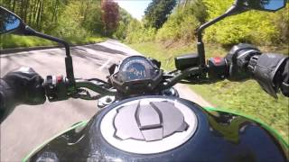 Kawasaki Z900 | First Ride | 💚 [Test_Video]