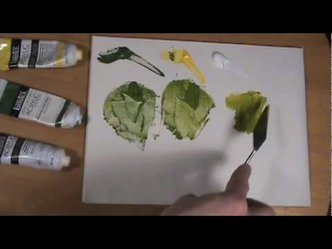 How To Use a Palette Knife
