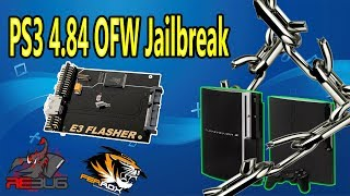 How To JailBreak PS3 4.84 OFW With E3 Flasher To Rebug 4.82.2 CFW 2019