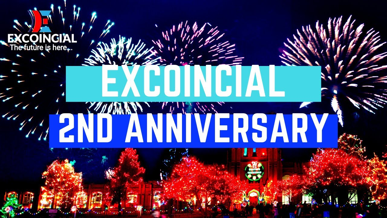 Excoincial 2nd Anniversary Celebration | Invitation and Greetings