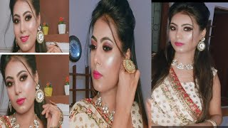 Party makeup step by step for beginner..part makeup tutorial in hindi.