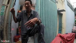 Cụ ông chân đầy giòi bây giờ đã có cuộc sống mới, trao 8,7 triệu đồng   Phong Bụi
