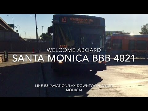 (RETRIED) Santa Monica Big Blue Bus 2002 NABI 40-LFW LNG-1st Gen #4021 | Coin Lloyd's Transit Hub