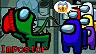 AMONG US CONTRA O MEGA IMPOSTOR IQ 999 GAMEPLAY PETER TOYS