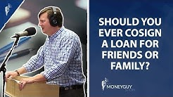 Should You Ever Cosign a Loan For Friends or Family?