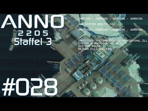 Let's Play Anno 2205 [#028] - Staffel 3: Warning, System-Reboot, Hacker-Attack