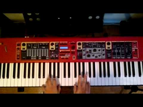 Blues Jazz Piano F solo only F blues scale by Eric Argensse