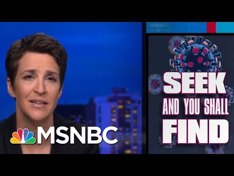 Coronavirus Lesson: More Testing Turns Up More Cases | Rachel Maddow | MSNBC