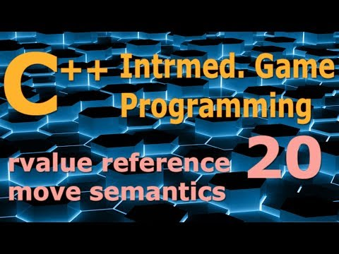 Intermediate C++ Game Programming DirectX [rvalue reference / move semantics] Tutorial 20