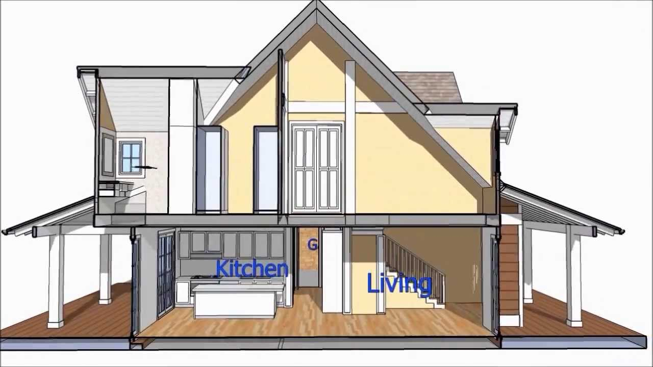Bungalow house design with attic for Bungalow house design with attic