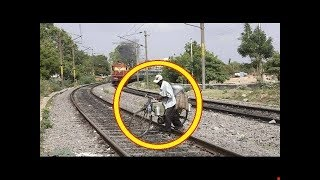 Real Ghost Caught On Camera In Railway Station - Real Ghost