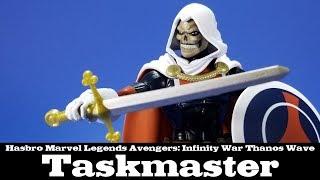 Marvel Legends Taskmaster Avengers Infinity War Thanos Wave Hasbro