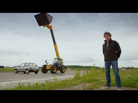 Crushing a car with water - Wild Weather with Richard Hammond: Episode 2 - BBC One