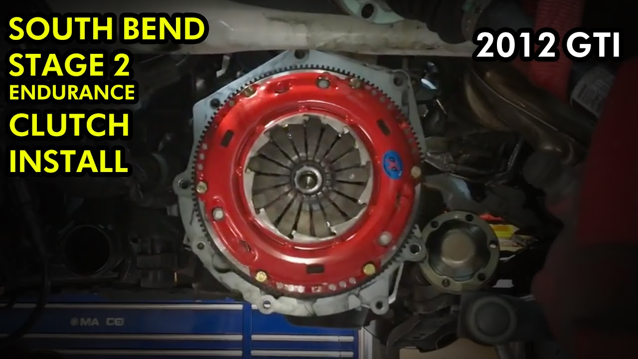 Mk7 Golf R >> MK6, MK7 GTI Clutch Replacement (South Bend Stage 2 Endurance) - YouTube