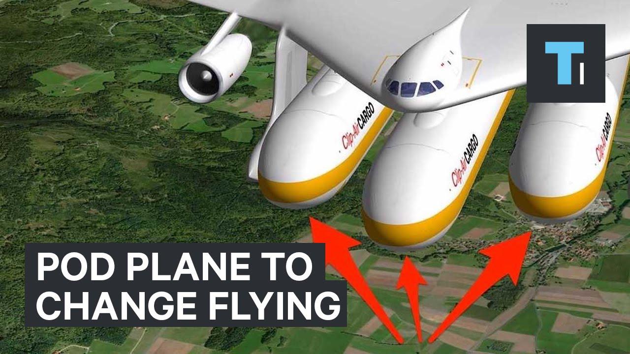 Pod Plane To Change Flying