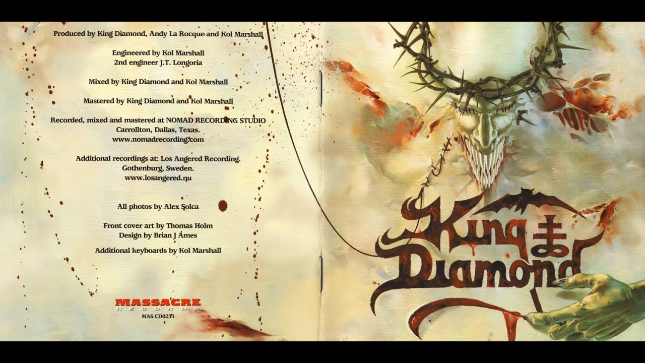 king diamond - house of god [full album] - youtube