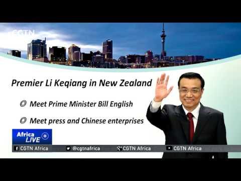Li Keqiang arrives in Wellington for official visit