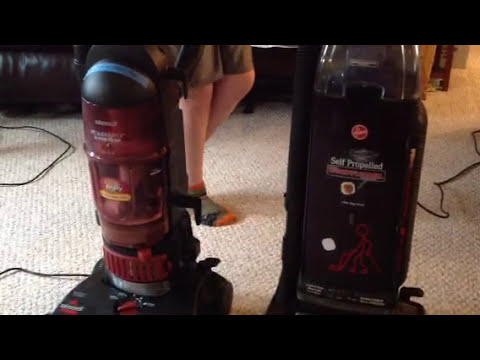 Bissell and Purple Hoover  YouTube
