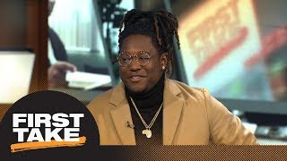 Shaquem Griffin shares some serious hot takes during interview   First Take   ESPN
