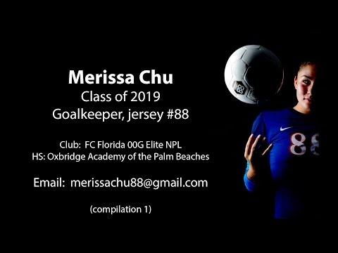Merissa Chu 2019 Goalkeeper ECNL Girls Soccer Recruit - Compilation 1