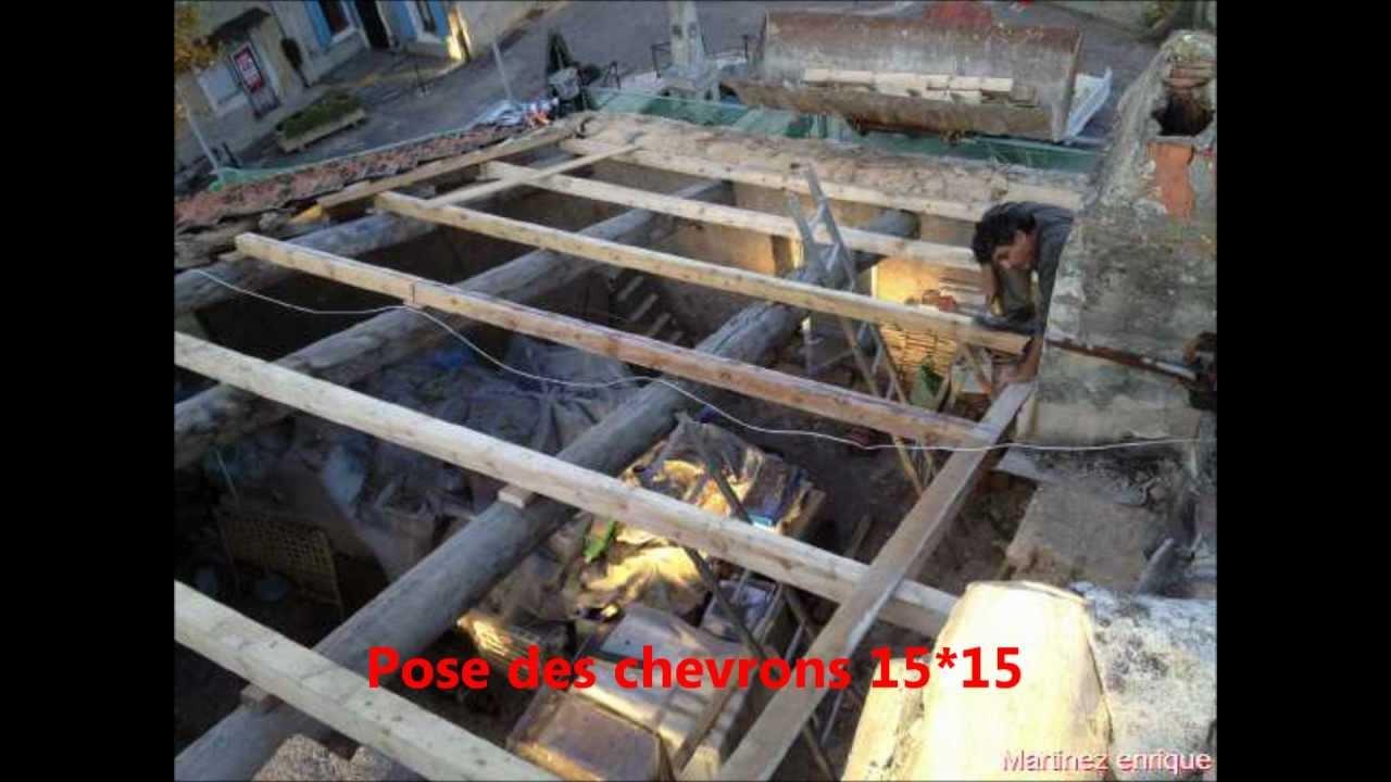 R novation d 39 une toiture youtube for Renovation d une toiture