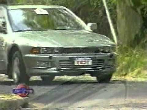 Mitsubishi Galant Supersaloon Test A Todo Motor Youtube
