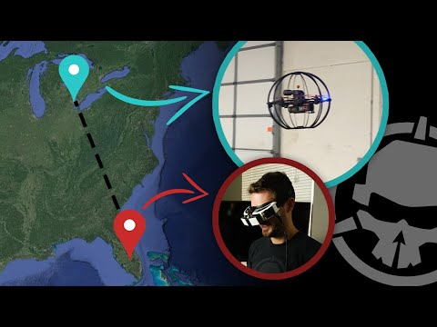 Flying a Drone from 1,200 MILES Away