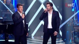 """Benjamin Castaldi et Patrick Fiori chantent """"Je te survivrai"""""""