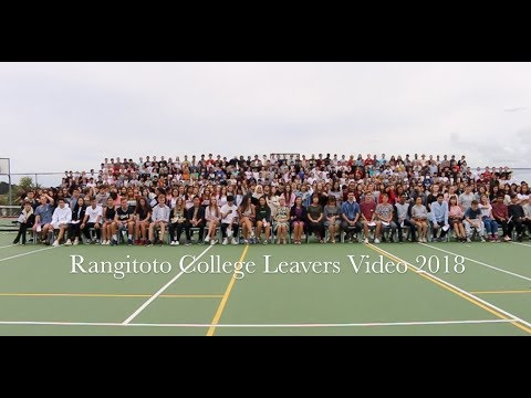 Rangitoto College Leavers Video 2018