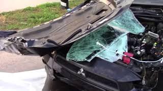 Смертельне ДТП у Полтаві. Mitsubishi Lancer .08 09 17
