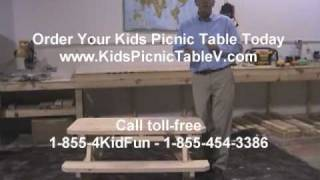 Kids Picnic Table - How To Get A Quality, Long-lasting Kids Picnic Table