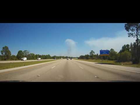 Driving around Charlotte County, Florida