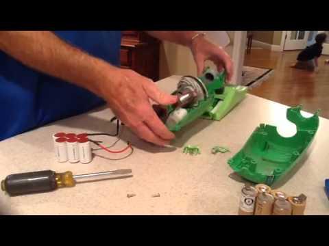 Replacing Swiffer Vacuum Battery Youtube