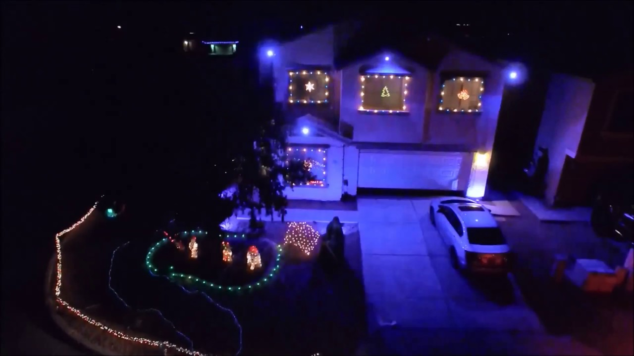 Star Wars Christmas Lights 2016 - YouTube