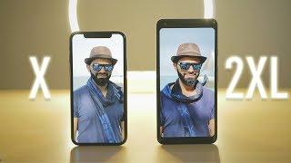 مقارنة بين كاميرا iPhone X و Pixel 2 XL ! من الافضل ؟