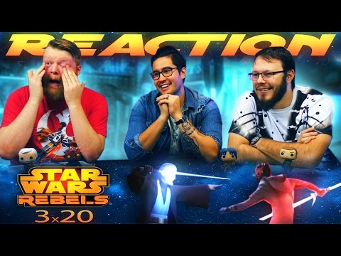 "Star Wars Rebels 3x20 REACTION!! ""Twin Suns"""