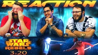"Star Wars Rebels 3x20 REACTION!! ""Twin Suns"""